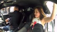 超级跑车遇到优步: 用迈凯伦接美女用户