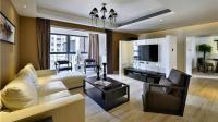 保定蓝湖郡三室两厅135平米现代简约风格装修案例效果图欣赏