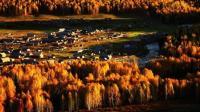 中国西北最北部的村庄, 地处三国交界处, 飞禽走兽中众多堪称仙境!