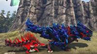 【肉肉】方舟: 恐龙1428跑步比赛!