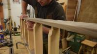 实拍一个木工打造一张双人床的整个过程! 制作还真的不简单