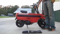 世界上最小的摩托车, 但是性能优越