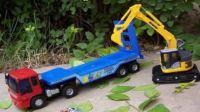 挖掘机工作超长视频表演大全 工程车大卡车试验