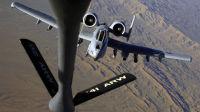 美军F-15E战斗轰炸机A-10攻击机B-52轰炸机-空中加油