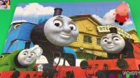 小猪佩奇拼托马斯小火车拼图玩具 88