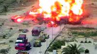 汽车炸弹袭击 坦克兵决策果断减少伤亡
