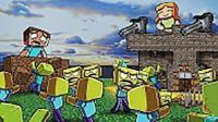 【魔哒鹿子】我的世界 爆笑中国版minecraft 僵尸生化危机大逃杀 形尸危机 趣味小游戏