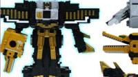 骑行王超能战士动物组合机器人玩具犀牛狼鳄鱼变形金刚机器人救生员勇敢狮子§垣垣玩具
