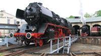 """沉重的蒸汽火车头是怎么轮换、停放的? 造个""""圈""""就可以"""
