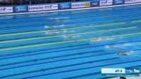 惊心动魄! 中国天才少女李冰洁横空出世! 世锦赛800米自由泳摘银! 全程紧紧咬住莱德基