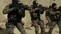 当恐怖分子遇到演习中真正的战斗部队, 那就两个字: 挨揍
