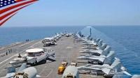美国海军-尼米兹号航母战斗群-通过霍尔木兹海峡-延时摄影