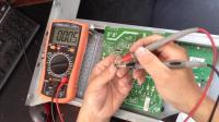 联想显示器无背光用通用高压板代换维修实例