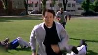 《致命罗密欧》李连杰橄榄球场发神威, 杰哥带你体验筋骨寸断的滋味