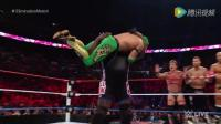 WWE美式摔跤娱乐 RAW 7 4 美国队vs国际队 十六人团体大混战