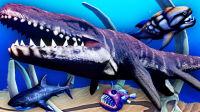 【屌德斯解说】 模拟食人鱼 全新生存模式 遇到恐龙时代的巨型怪鱼