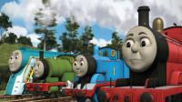 托马斯小火车奥特曼一起玩钓鱼比赛78