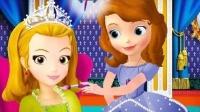 安柏给小公主苏菲亚捣乱 迪士尼公主