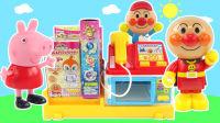 面包超人送小猪佩奇和芭比娃娃日本盒玩 156