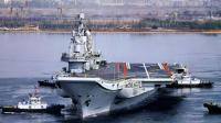 辽宁舰航母加满油一次要8000吨, 最远能开出多少公里?