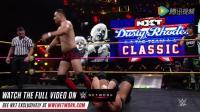 WWE美式摔跤娱乐 NXT 10 26 天兵何颢麟组合NXT首战