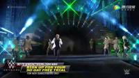 WWE美式摔跤娱乐 Pitbull联袂FloRida献唱2017摔跤狂热