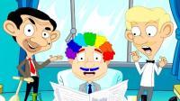 憨豆先生打工偷懒 整蛊顾客头发 搞笑游戏 恶搞游戏 益智游戏