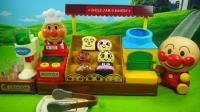 面包超人面包店玩具小猪佩奇机器猫购买面包