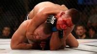 他是UFC中的真痞子 嘴炮曾被他打得满脸是血 趴地