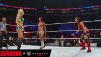 wwe女子摔跤, 三个女人一台戏, 最受伤的肯定是最