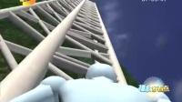 蜘蛛侠挑战张家界天梯