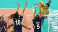 2017世界女排大奖赛南京总决赛冠军战意大利vs巴