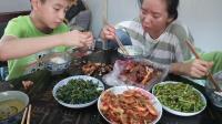 江西省南昌市青山湖区扬子洲乡特产美食大胃王中国吃播视频