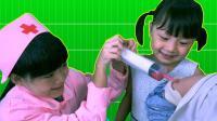 小孩吃果冻 卡在了喉咙 医生来急救 570