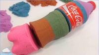 美国太空沙动力砂蛋糕婴儿娃娃颜色惊喜鸡蛋美国玩具天使沙玩法 【俊和他的玩具们
