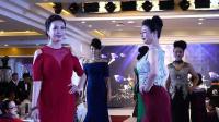 天坛周末9628 模特表演《红酒晚礼服》马红艺术团