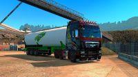 欧卡2-MAN卡车 水泥粉拖车 北欧地区