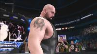 巨人之间的对话! 大秀 VS 大卡司 WWE2K17比赛