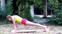 适合女生的简单瑜伽动作, 动作不仅简单还能健身