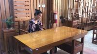 柚木实木大板桌, 质感极佳木材珍贵, 被称作缅甸国宝
