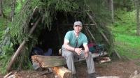 丛林生存技能, 如何搭建一个简单的庇护所来应付野外突发状况
