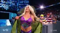 WWE世界摔跤联盟女子对战, 拉娜VS夏洛特的天赋