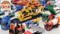 儿童电动挖掘机 男孩玩具车挖土机 挖掘机工作大全