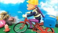 小猪佩奇玩熊出没光头强极速单车 36