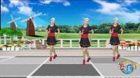 蓝天云广场舞 美体健身操第一套 《我在红尘中遇见你》附分解教学