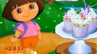 朵拉教小朋友们制作纸杯蛋糕 06