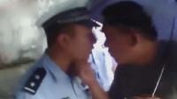 """山西阳泉一司机乱停车 交警赶到后遭""""调戏"""""""