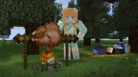 【大橙子】荒漠求生日记#13懒人厨房[我的世界Minecraft]