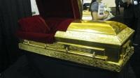 世界上最大的黄金生产工厂,可定做黄金棺材!