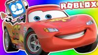 小飞象✘Roblox✘赛车总动员模拟器上集-高速公路速度与激情 乐高小游戏